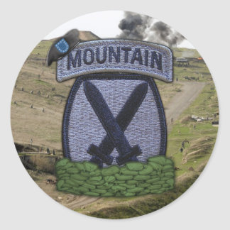 10th Mountain Division Fort Drum Patch Stickers