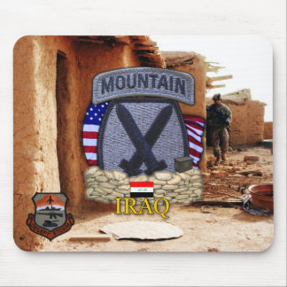 10th mountain division gulf war vets Mousepad