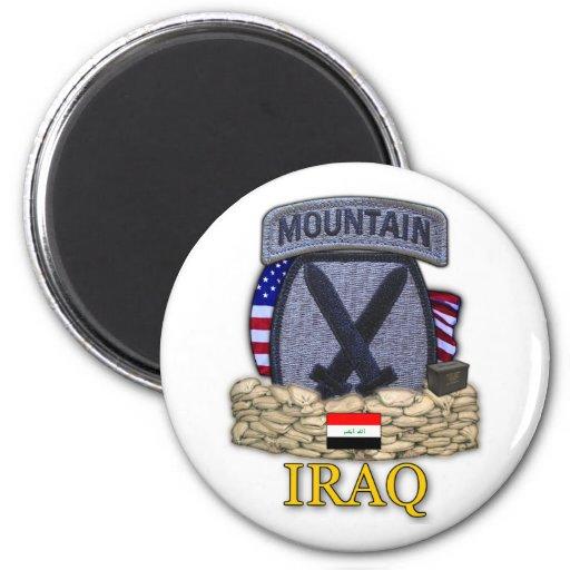 10th mountain division iraq war veterans Magnet Magnet