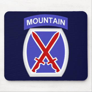 10th Mountain Division Mouse Mat