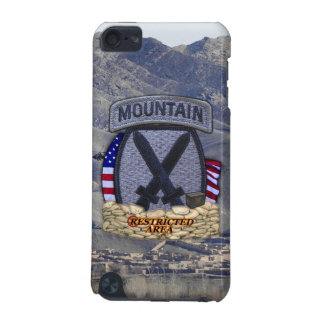 10th mountain division patch ipod Case iPod Touch (5th Generation) Cover