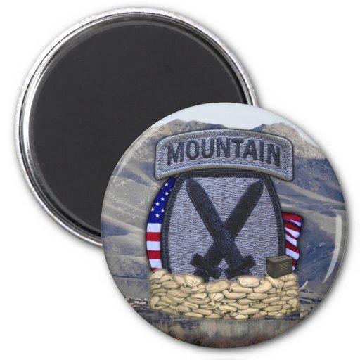 10th mountain division patch veterans Magnet Fridge Magnet