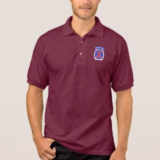 10th Mountain Division Polos