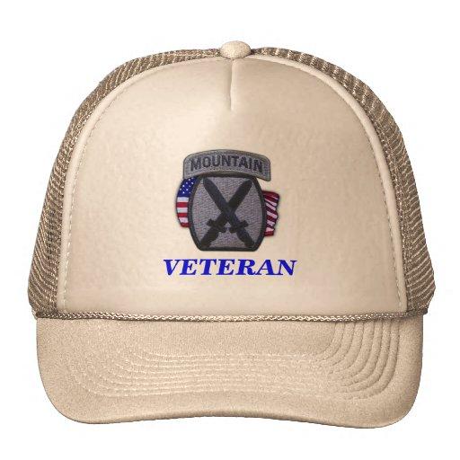 10th mountain division veterans vietnam iraq Hat