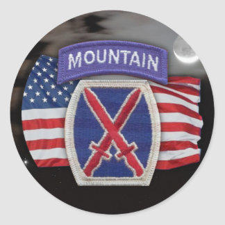 10th mountain patch scrapbooking veterans iraq S Sticker
