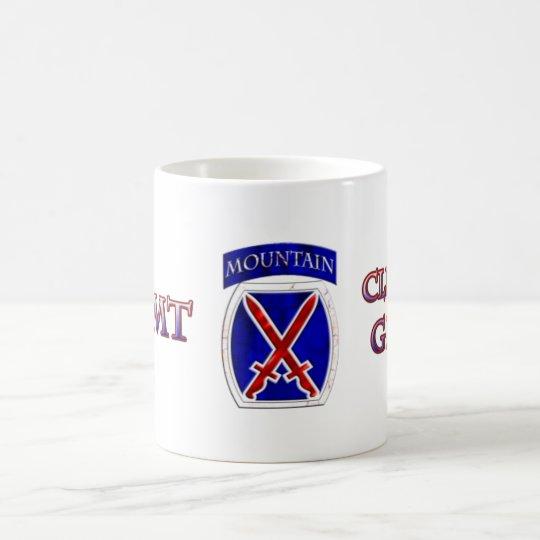 10th Moutain Division Climb to Glory Coffee Mug