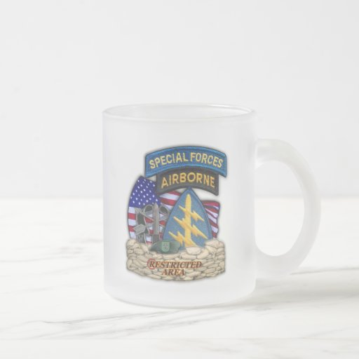 10th Special forces green berets frosty mug