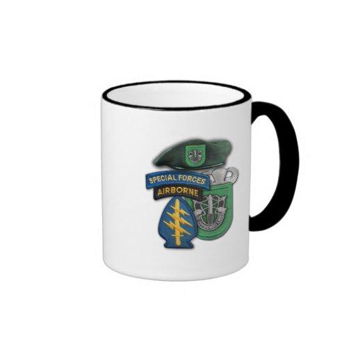 10th Special forces green berets veterans vets Mug