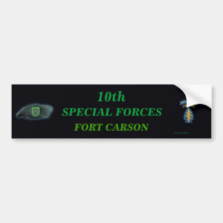 10th special forces group iraq son Bumper Sticker