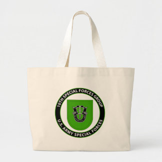 10th Special Forces Group Large Tote Bag