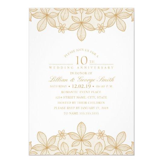 10th Anniversary Invitations & Announcements