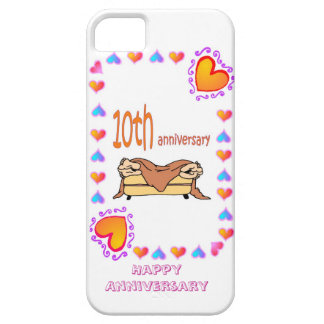10th wedding anniversary iPhone 5 covers