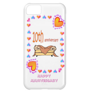 10th wedding anniversary iPhone 5C covers