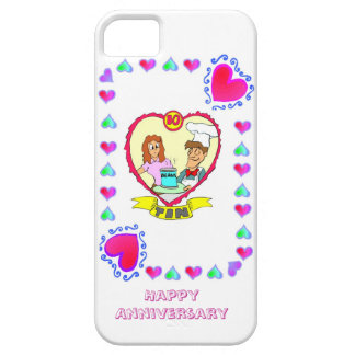 10th wedding anniversary tin iPhone 5 covers