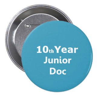 10th Year Junior Doctor badge