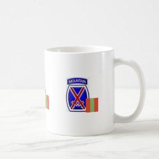 10thPatch4th INF Basic White Mug