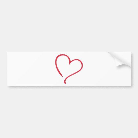 1104_heart_PA_00_1clr_50cm_300dpi.png Bumper Sticker