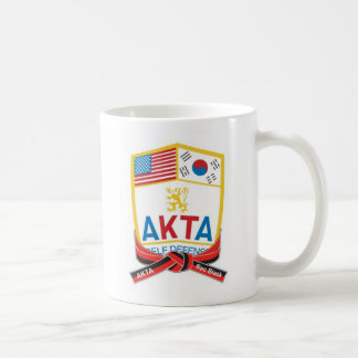 110-1 AKTA Recommended Black Belt Mug