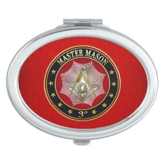 [110] Master Mason - 3rd Degree Square & Compasses Vanity Mirrors