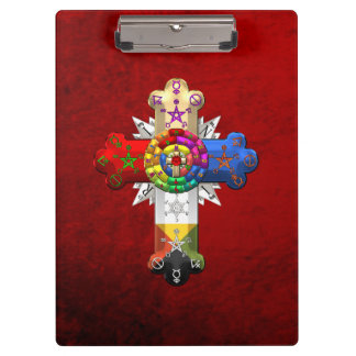 [110] Rosy Cross (Rose Croix) Clipboard