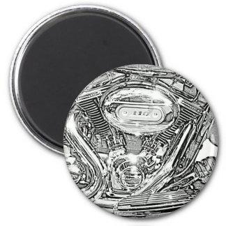 110 Screaming Eagle Harley Davidson 6 Cm Round Magnet