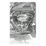 110 Screaming Eagle Harley Davidson Postcard