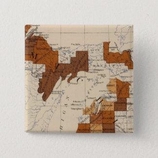 110 Typhoid fever Michigan 15 Cm Square Badge