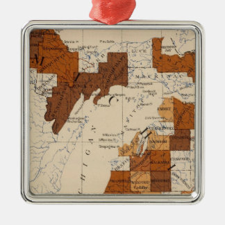 110 Typhoid fever Michigan Christmas Ornament