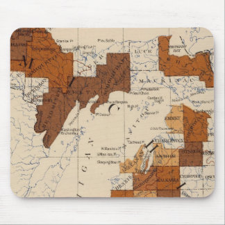 110 Typhoid fever Michigan Mousepad