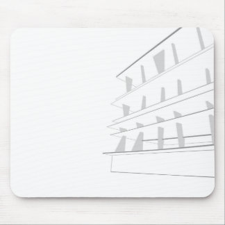 1111 Lincoln Road Mouse Mat