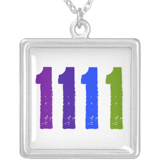 1111 Square Charm Necklace