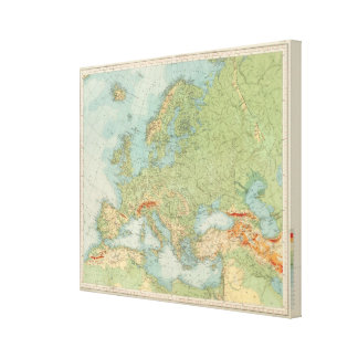 1112 European Physical Canvas Print