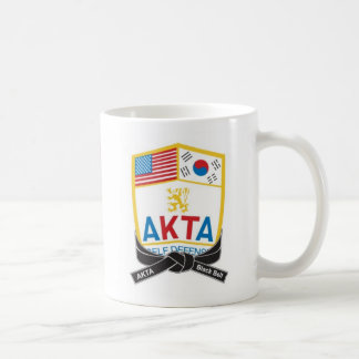 111-1 AKTA Generic Black Belt Mug