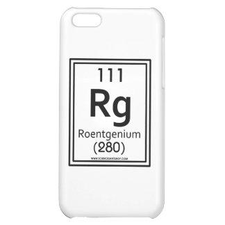111 Roentgenium iPhone 5C Cases