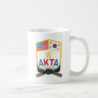 112-1 AKTA 1st Dan Black Belt Mug