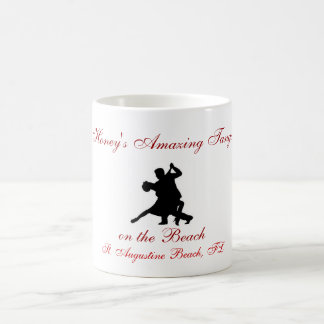 1153494_tango_1_silhouette, Honey's Amazing Tan... Basic White Mug
