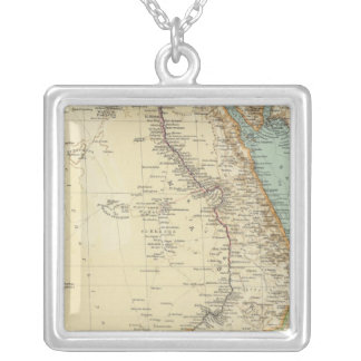 115 Egypt Silver Plated Necklace