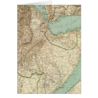 11617 Eritrea, Ethiopia, Somalia Card