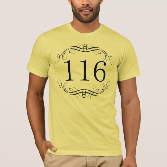 116 Area Code T-Shirt