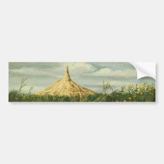 1170 Chimney Rock Landscape Bumper Sticker