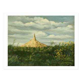 1170 Chimney Rock Landscape Postcard