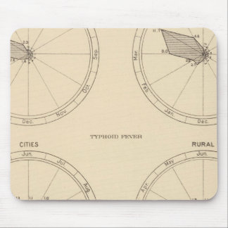 117 Deaths influenza, typhoid fever 1900, 1890 Mouse Pad