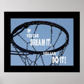 #117 (Matte) Basketball Poster