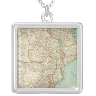 11819 South Africa Silver Plated Necklace
