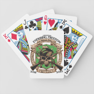 1186 Military Police Enduring Freedom Deck Of Cards