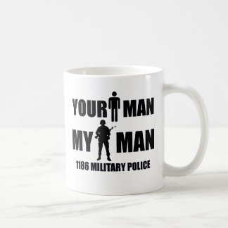 1186 Military Police My Man Classic White Coffee Mug