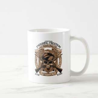 1186 MP Enduring Freedom Basic White Mug