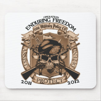 1186 MP Enduring Freedom Mouse Mat
