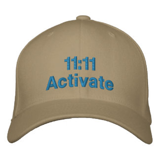 11:11 Activate Embroidered Baseball Caps