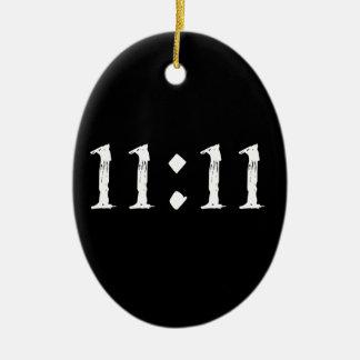 11:11 CERAMIC OVAL DECORATION